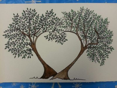Picture of a Tree Painting