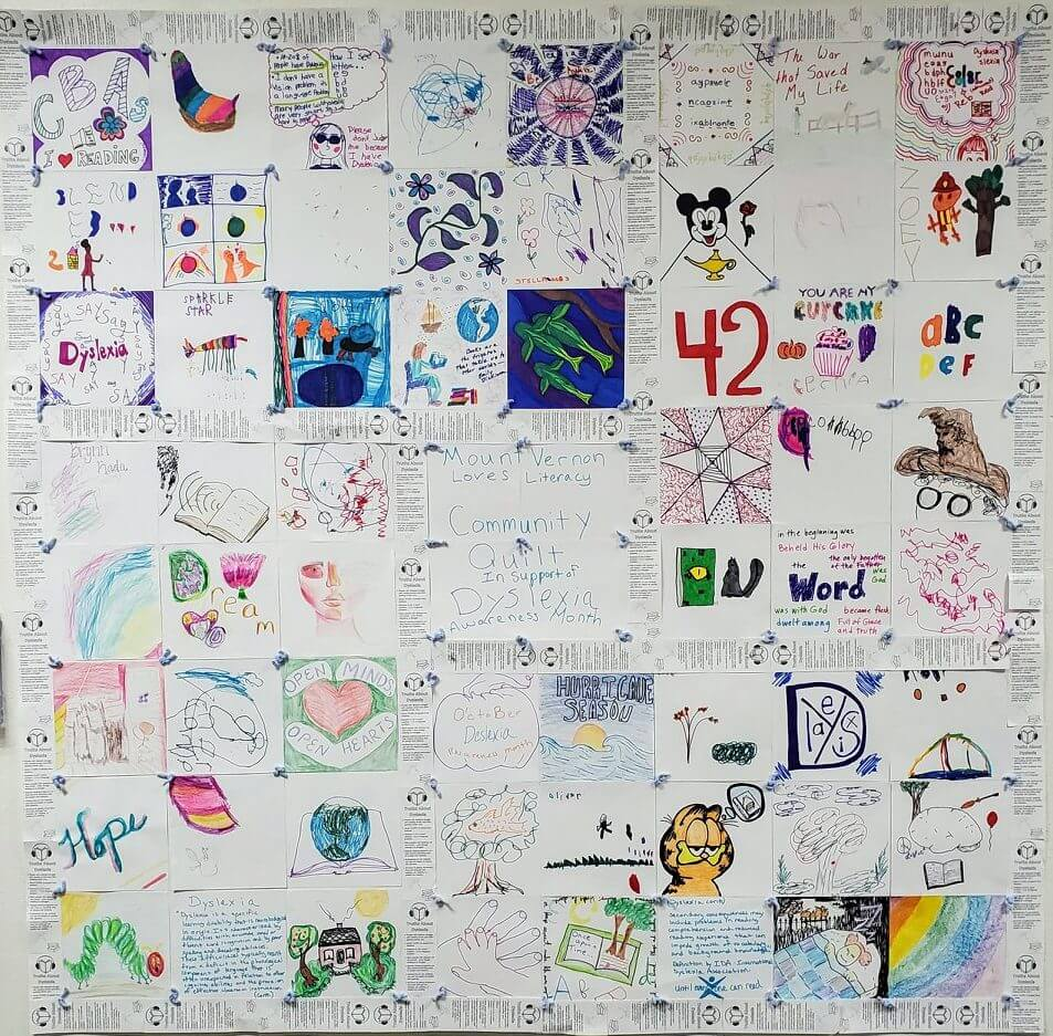 photo of community quilt